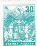 Stamps Spain -  Escudo