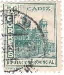 Sellos de Europa - España -  Cádiz. Diputación Provincial