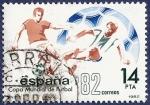 Sellos de Europa - España -  Edifil 2661 Mundial de fútbol 14