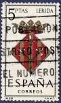 Stamps of the world : Spain :  Edifil 1554 Escudo de Lérida