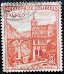 Stamps Colombia -  Santuario de las Lajas. Nariño - Colombia