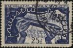 Stamps France -  Industria textil