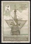Sellos de Europa - España -  532 Descubrimiento de América. Nao Santa María.