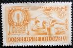 Stamps Colombia -  Caja de Credito Agrario