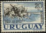 Sellos de America - Uruguay -  El grito de Asencio en Soriano. 28 de febrero de 1811.
