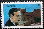 Stamps of the world : Colombia :  Luis A. Calvo