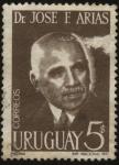 Stamps Uruguay -  Dr. José F. Arias 1885-1970 . El más destacado educador del Uruguay en el Siglo XX. Impulsor de la E