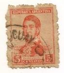 Stamps Argentina -  Gral. San Martín