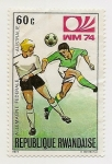 Sellos de Africa - Rwanda -  Copa del Mundo '74