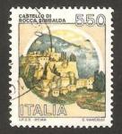 Stamps Italy -  1603 - Fortaleza Sinibalda