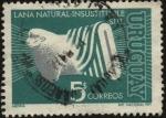 Stamps Uruguay -  S.U.L. Secretariado uruguayo de la lana.