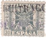 Sellos de Europa - España -  Telegrafos. Escudo de España
