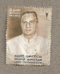 Stamps Asia - Sri Lanka -  Leslie Goonewardene