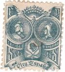 Stamps Spain -  Reyes Catolicos. Caridad Granadina