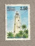 Stamps Asia - Sri Lanka -  Faro de Dinuwara