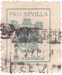 Sellos del Mundo : Europa : España : Pro Sevilla