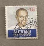 Stamps Africa - Sri Lanka -  Personaje
