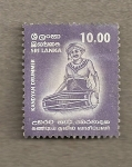 Stamps Sri Lanka -  Tambor Kandyan
