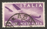 Stamps : Europe : Italy :  avión