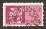 Stamps : Europe : Italy :  arte etrusco, caballos alados