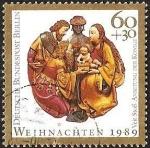 sellos de Europa - Alemania -  DEUTSCHE BUNDESPOST  - WEIHNACHTEN