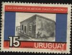 Stamps Uruguay -  Casa solariega del General Artigas en la ciudad de Sauce, dpto. de Canelones.