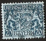 Stamps Europe - Germany -  BAYERN - DIENSTMARKE
