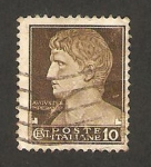 Sellos del Mundo : Europa : Italia : emperador augusto