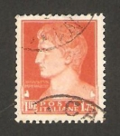 Stamps : Europe : Italy :  235 - Emperador Augusto