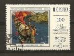 Stamps Russia -  Centenario del nacimiento de Rerikh