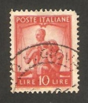 Stamps : Europe : Italy :  familia y justicia
