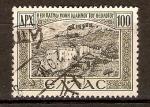 Sellos de Europa - Grecia -  MONASTERIO   DONDE   SAN   JUAN   PREDICÓ