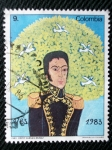 Stamps of the world : Colombia :  Simon Bolivar.