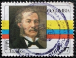 Stamps of the world : Colombia :  Julian Trujillo