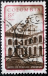 Stamps Colombia -  Hotel de Turismo. Popayan - Colombia