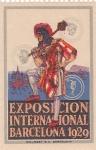 Stamps Spain -  Exposición Internacional de Barcelona 1929