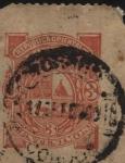 Sellos de America - Uruguay -  Escudo de la República.