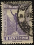 Stamps Uruguay -  Mercurio.