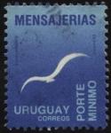 Sellos de America - Uruguay -  Mensajerías. Porte mínimo.