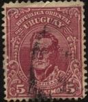 Sellos de America - Uruguay -   El General Artigas.