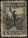 Sellos de America - Uruguay -  Mercurio.