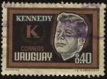 Stamps Uruguay -  Homenaje a J. F. Kennedy.