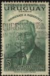Stamps Uruguay -  V Congreso postal de las Américas y España. Homenaje a Roosevelt.