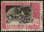 Stamps Uruguay -  X aniversario del planetario Municipal.