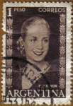 Stamps : America : Argentina :  EVA PERON