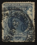 Stamps Uruguay -  Mujer.