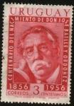 Stamps Uruguay -  100 años del nacimiento de Don José Batlle y Ordoñez.
