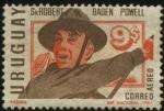 Stamps Uruguay -  Sir Robert Baden Powell 1857-1941, fundador del movimiento scout.