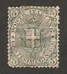 Sellos de Europa - Italia -  escudo de la casa savoia
