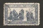 Sellos de Europa - Italia -  VII centº de la muerte de san francisco de asis